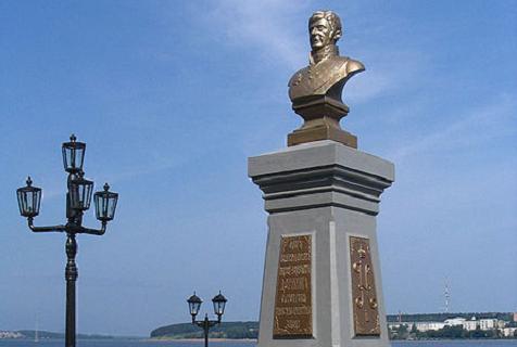 Памятник Дерябину