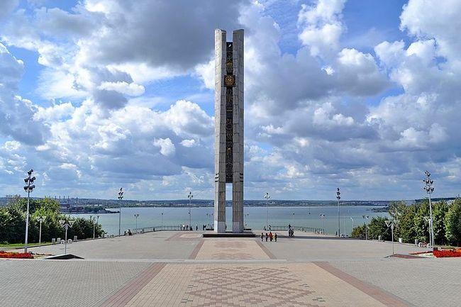 Монумент Навеки с Россией